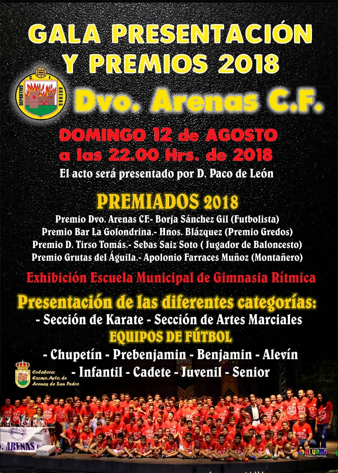 Presentación del Dvo Arenas - Arenas de San Pedro - TiétarTeVe