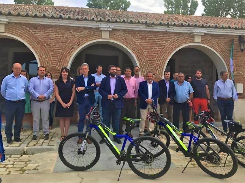 Bicicletas Eléctricas - Casa del Parque Guisando y Hoyos del Espino - TiétarTeVe