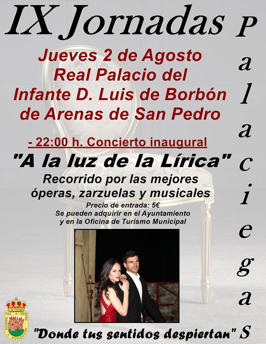 IX Jornadas Palaciegas - Concierto Lírico - Arenas de San Pedro - TiétarTeVe