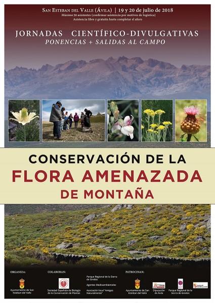 Jornadas de Conservación de la Flora Amenazada de Montaña - San Esteban del Valle - TiétarTeVe