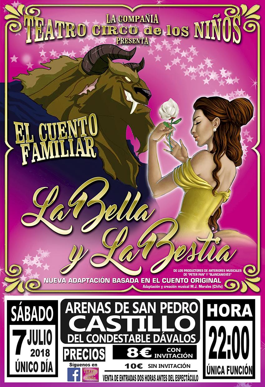 La Bella y la Bestia en Arenas de San Pedro - TiétarTeVe