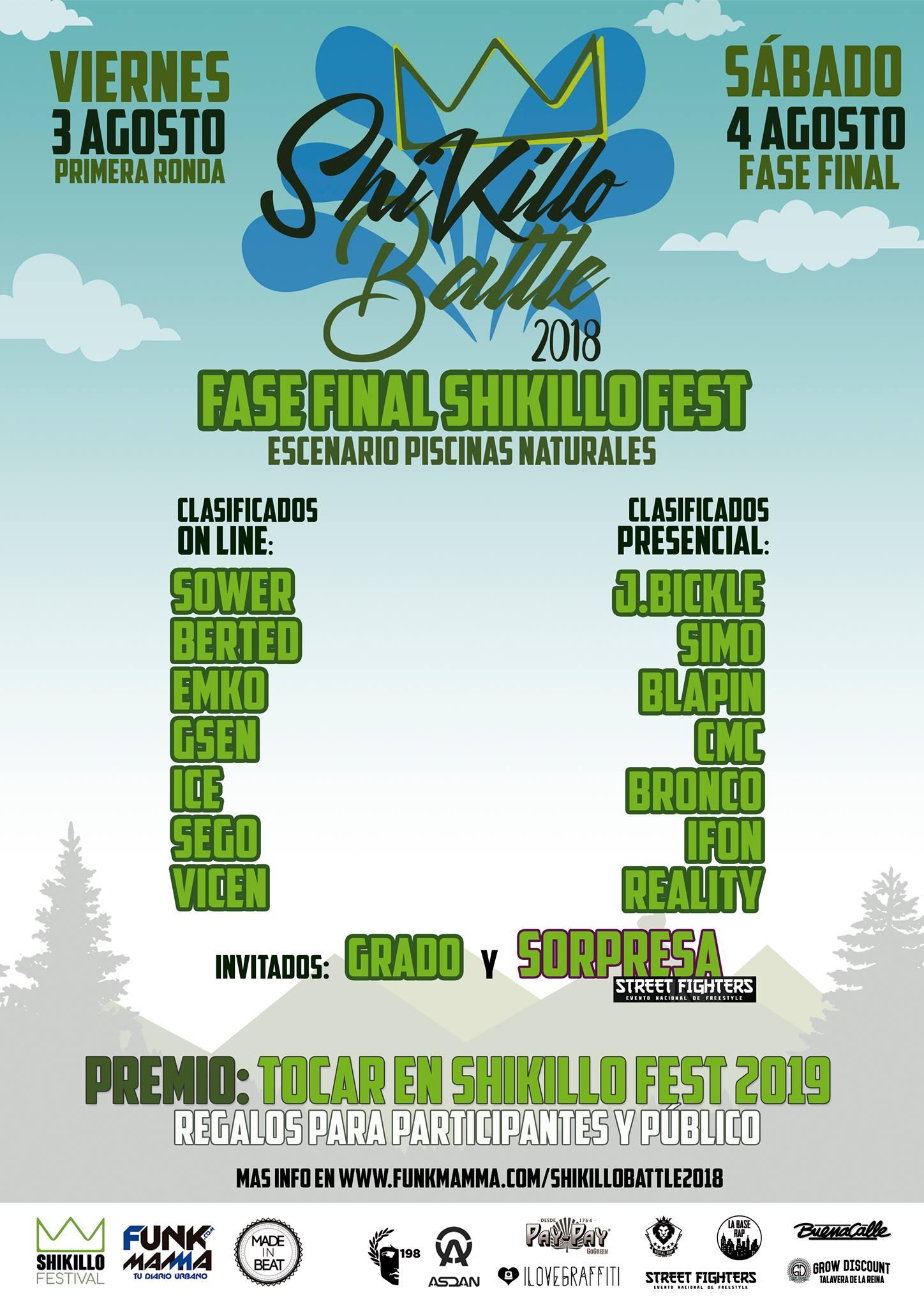 Shikillo Battle - Shikillo Festival - TiétarTeVe