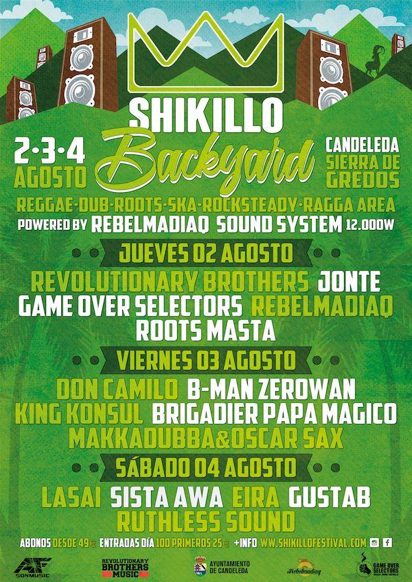 Shikillo Festival 2018 - Backyard - TiétarTeVe