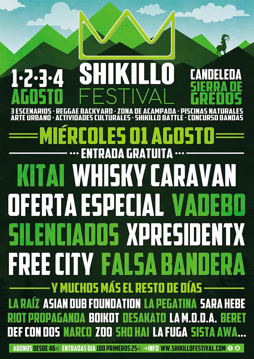 Shikillo Festival 2018 - Fiesta Bienvenida - TiétarTeVe