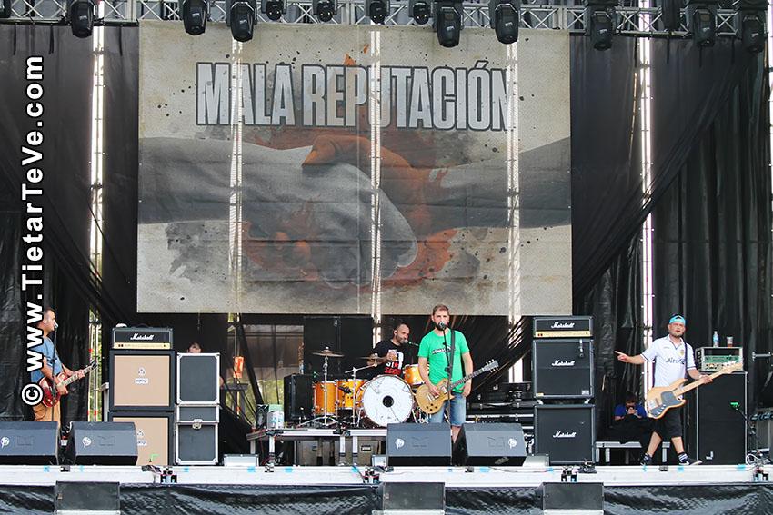 VII Shikillo Festival - Candeleda - Mala Reputación - TiétarTeVe