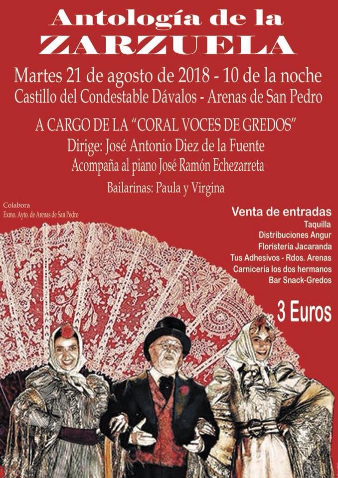 Antología de la Zarzuela - Coral Voces de Gredos - Arenas de San Pedro - TiétarTeVe