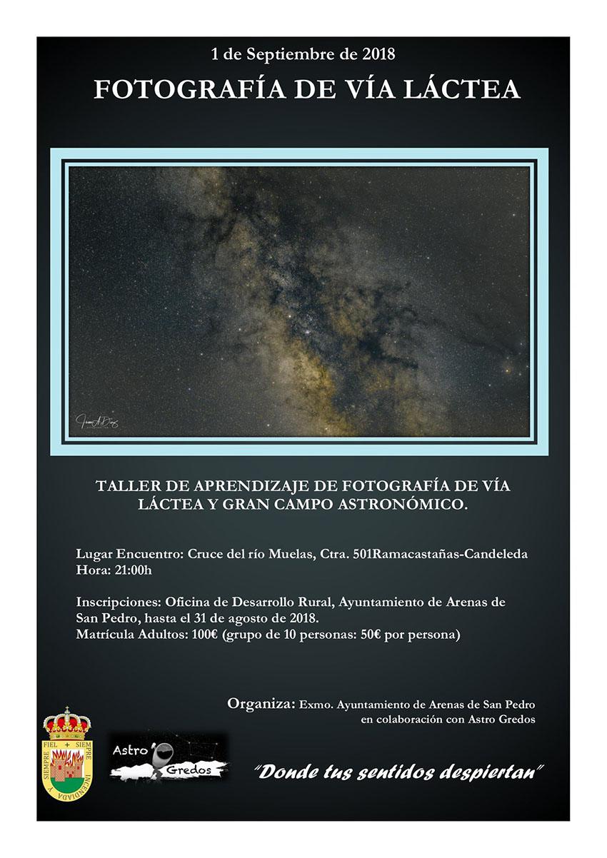Curso de Fotografía Vía Láctea - Arenas de San Pedro - TiétarTeVe