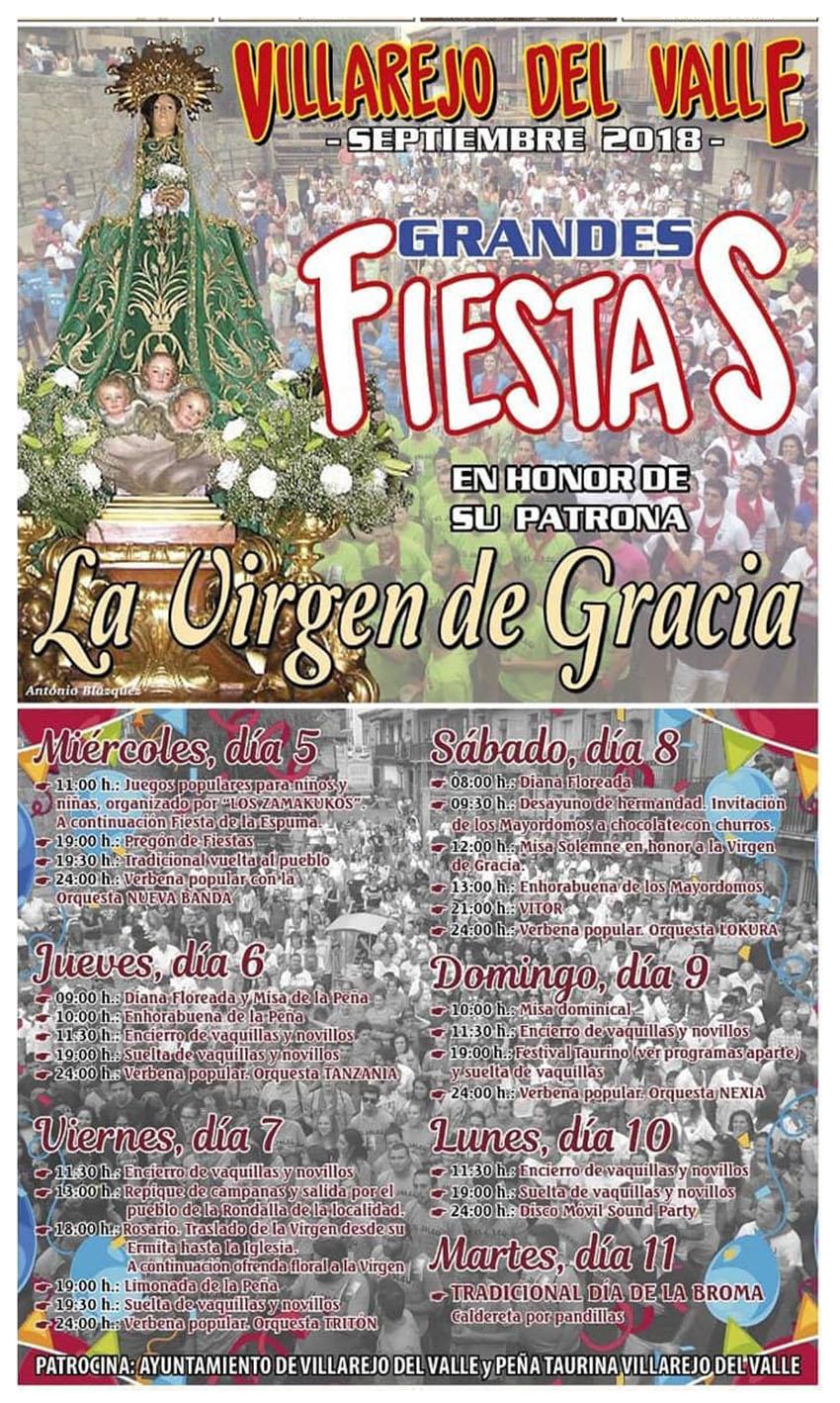 Fiestas de la Virgen de Gracia - Villarejo del Valle- TiétarTeVe