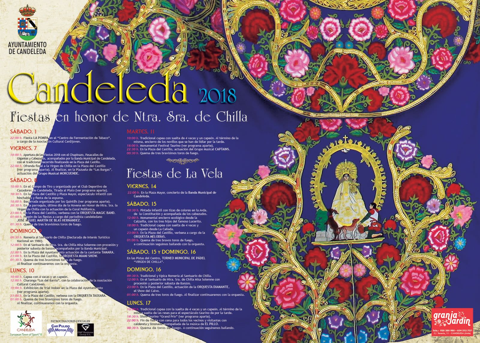Fiestas de la Virgen de Chilla - Candeleda - TiétarTeVe