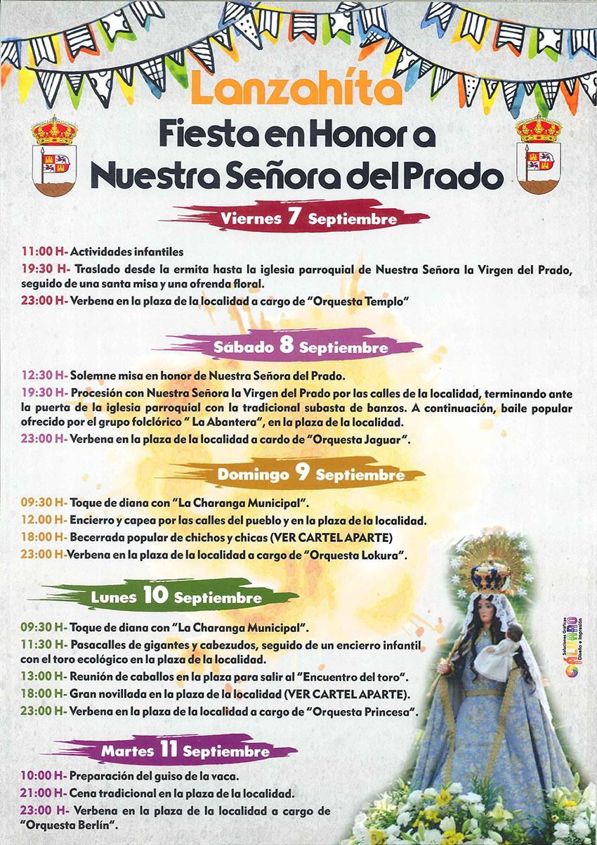 Fiestas de Ntra. Sra. del Prado - Lanzahíta - TiétarTeVe