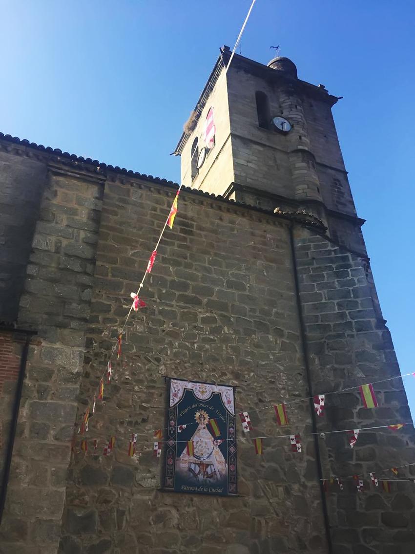 I Ofrenda Floral a la Virgen del Pilar de Arenas - Arenas de San Pedro - TiétarTeVe