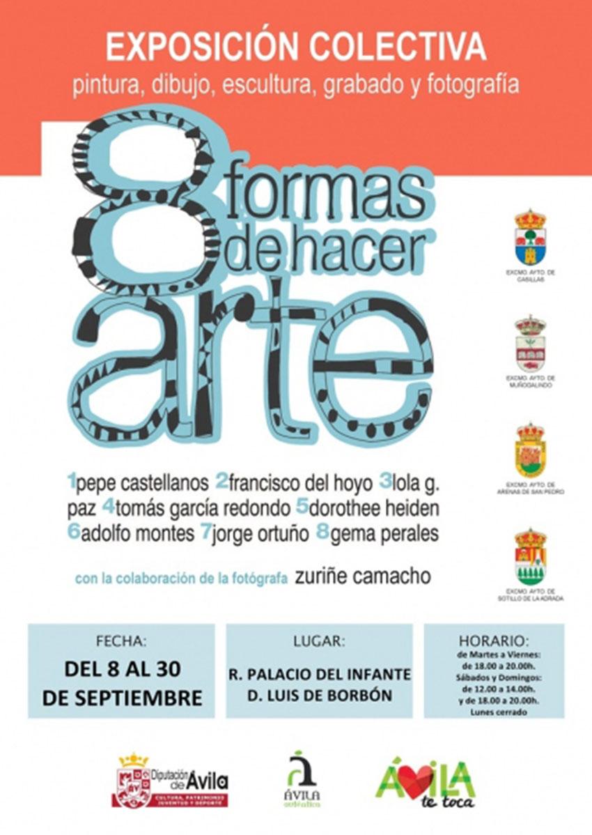 "Exposición ""8 Formas de hacer Arte"" - Arenas de San Pedro - TiétarTeVe"