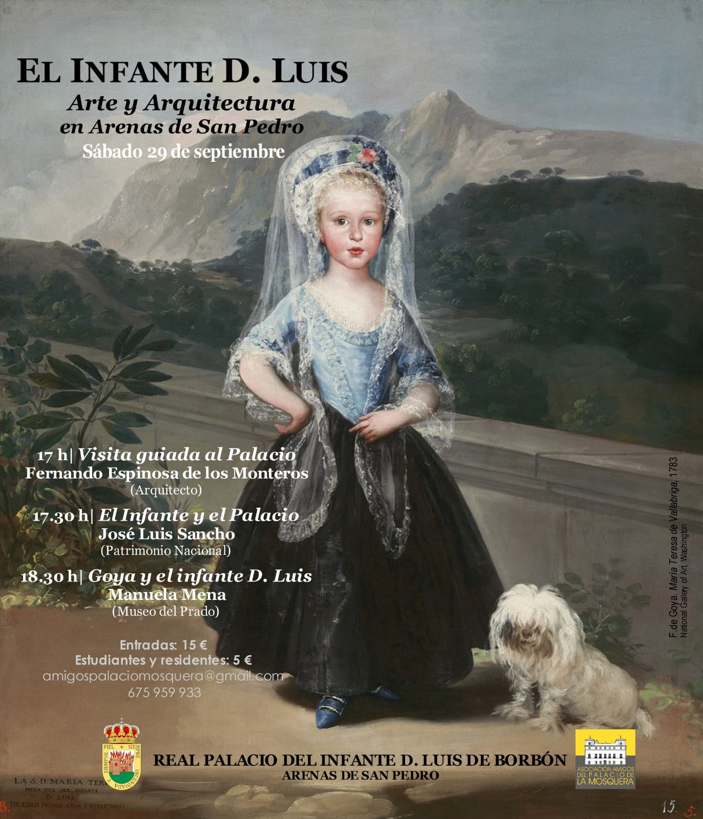 Jornadas de Arte y Arquitectura en Palacio - Palacio de La Mosquera - Arenas de San Pedro - TiétarTeVe