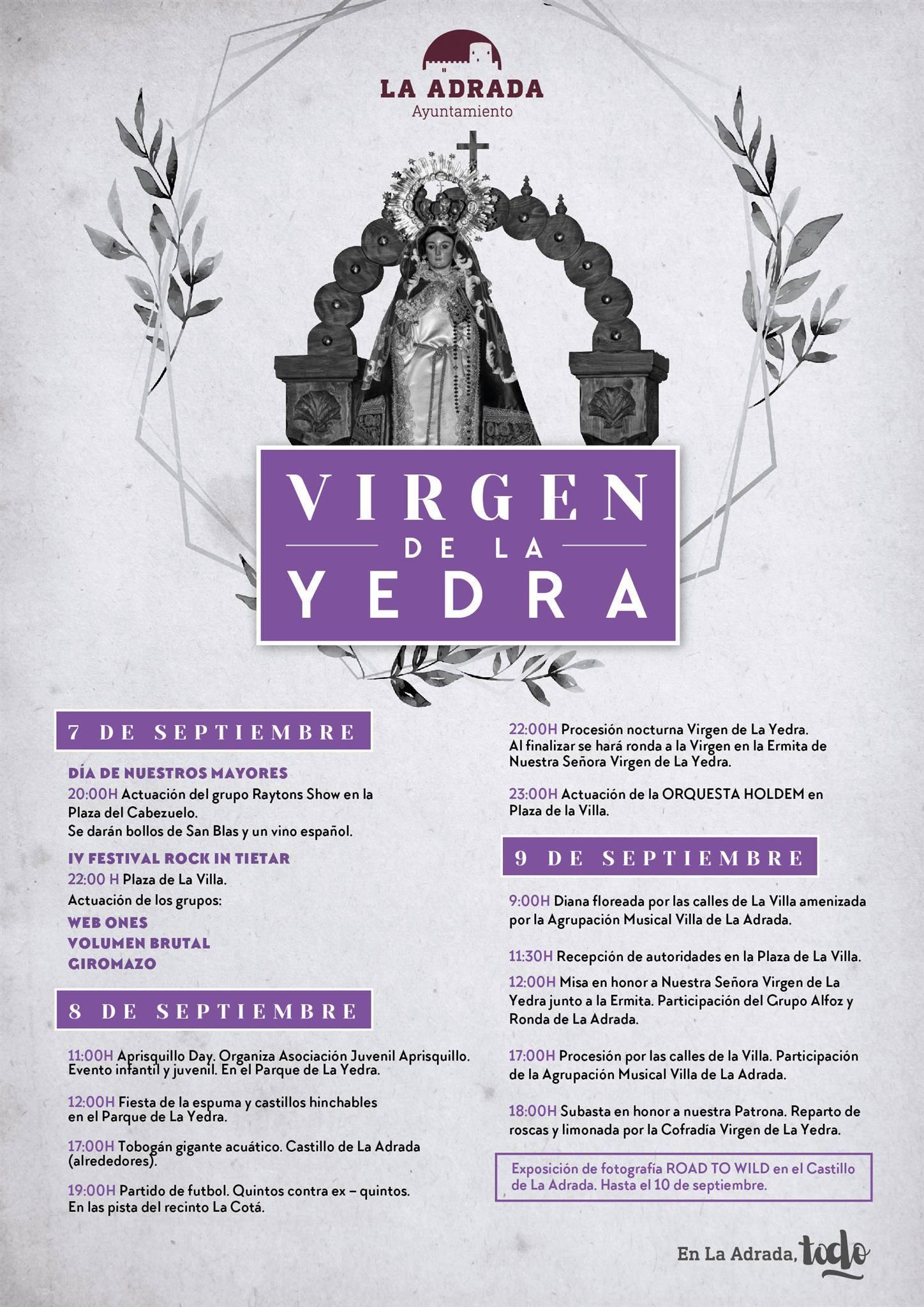 Virgen de La Yedra - La Adrada - TiétarTeVe