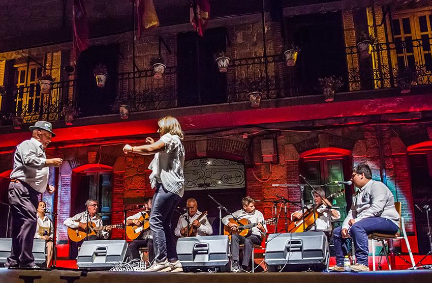 XXIV Festival Pedro Vaquero - Candeleda - Actuación sábado Ronda Escalante - TiétarTeVe