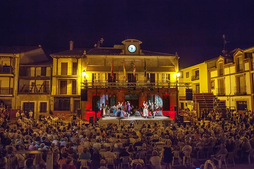 XXIV Festival Pedro Vaquero - Candeleda - Actuación viernes Estirpe Aragonia  - TiétarTeVe