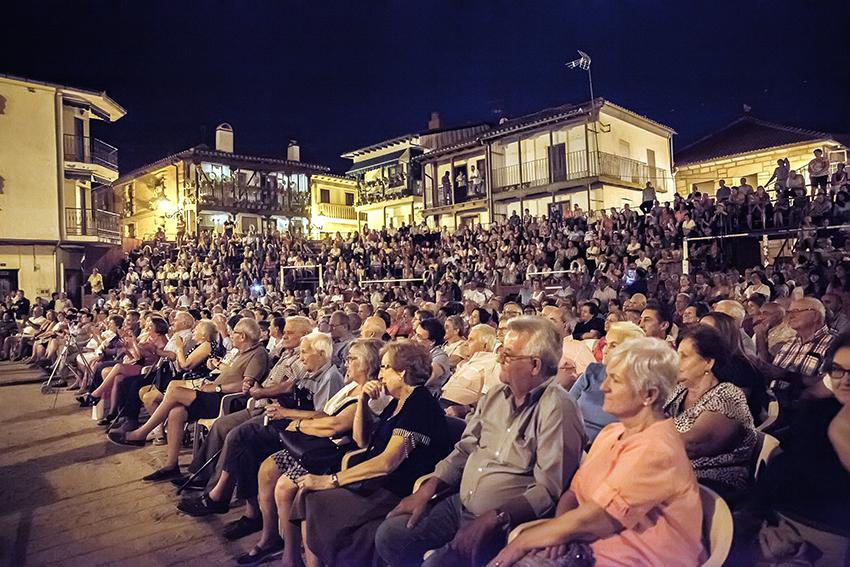 XXIV Festival Pedro Vaquero - Candeleda - Asistencia - TiétarTeVe