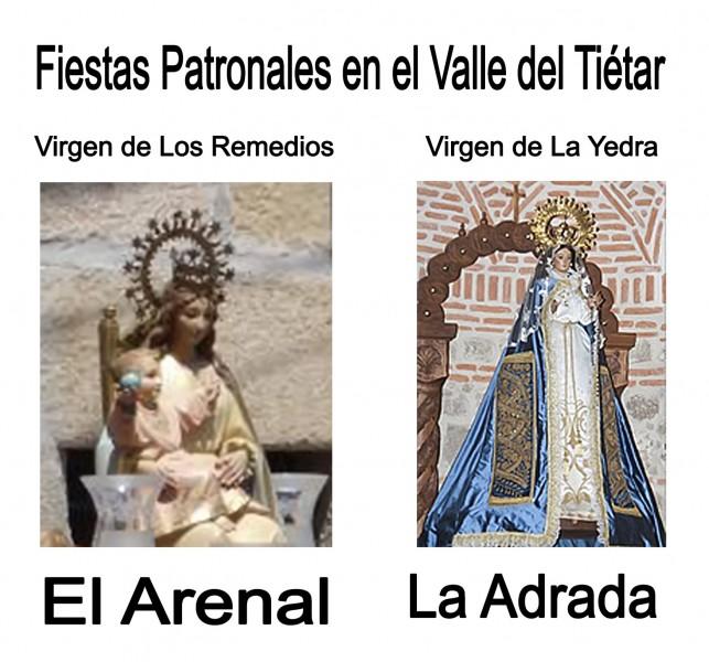 Fiestas Virgen Remedios de El Arenal y Virgen de La Yedra de La Adrada - TiétarTeVe