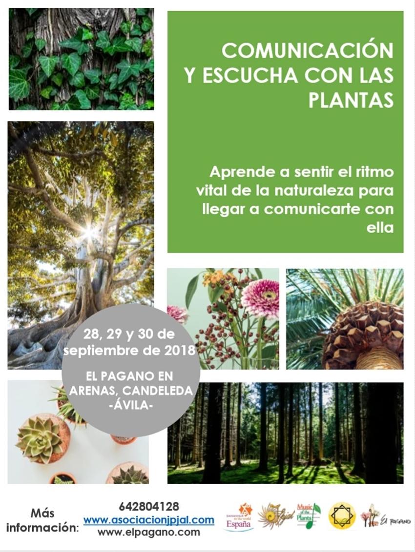Comunicacion y Escucha con las Plantas - Candeleda - TiétarTeVe