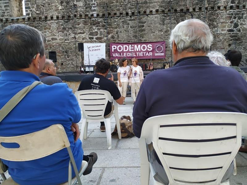 Asamblea Podemos Arenas de San Pedro - TiétarTeVe