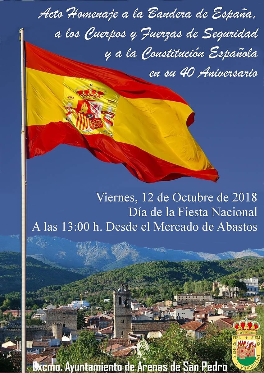 Homenaje a la Bandera - Arenas de San Pedro - TiétarTeVe