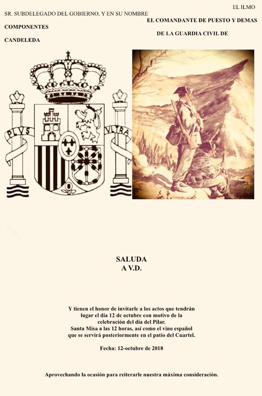 Medalla a la Guardia Civil - Candeleda - TiétarTeVe