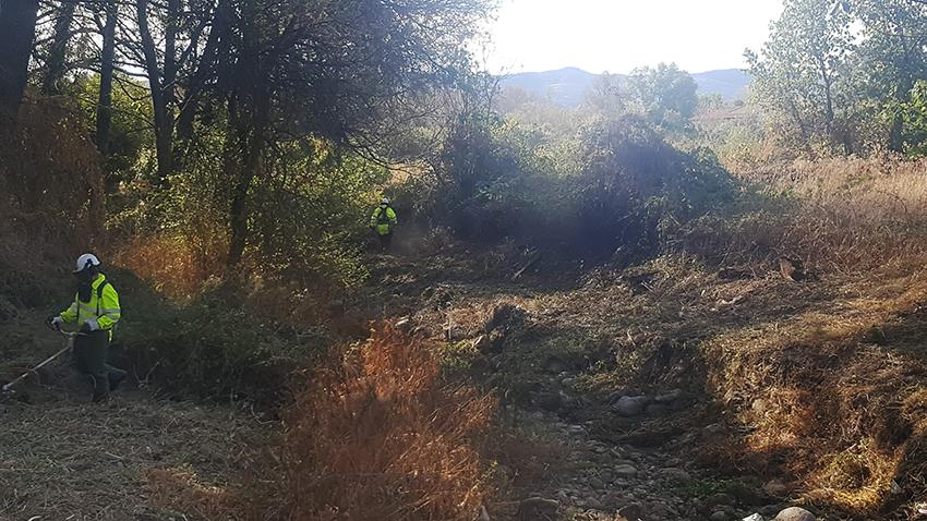 Arreglo del cauce del Río Tiétar a su paso por Sotillo de La Adrada - TiétarTeVe