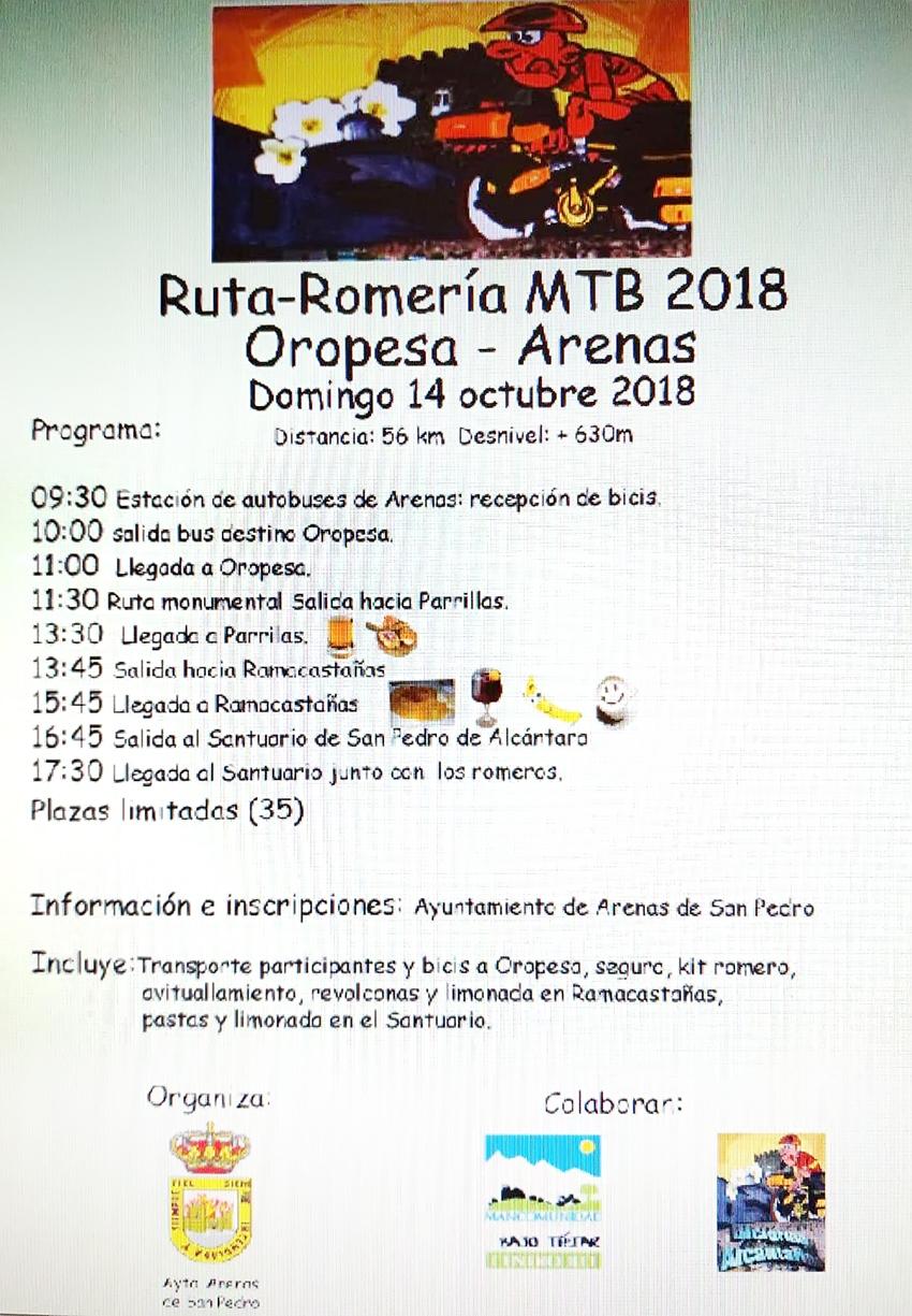 Romeria MTB Arenas de San Pedro - TiétarTeVe