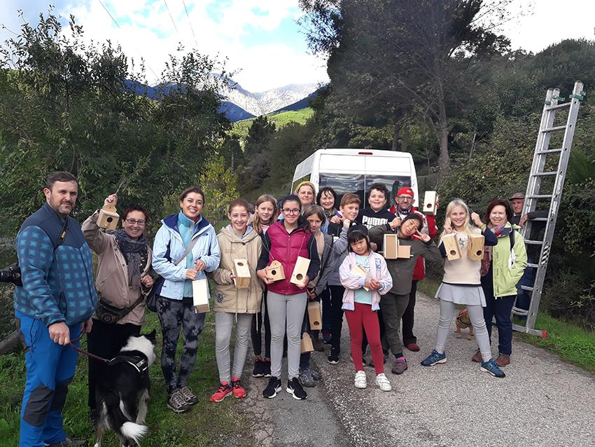 Colocación de Cajas Nido - Voluntariado Ambiental - Arenas de San Pedro - TiétarTeVe