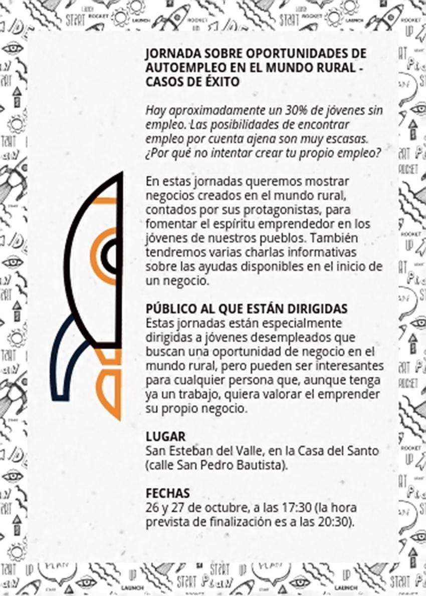 Jornadas Autoempleo Mundo Rural - San Esteban del Valle - TiétarTeVe