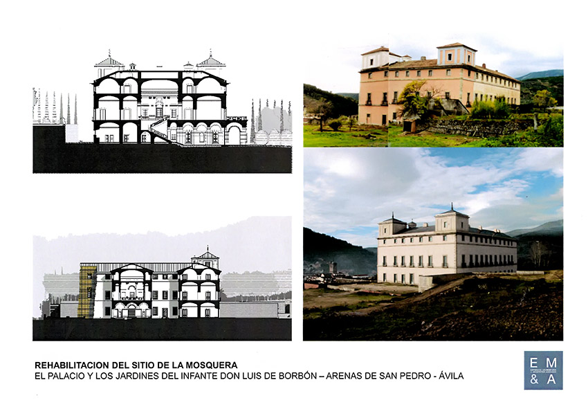 Planos Rehabilitacion del Palacio de La Mosquera - Arenas de San Pedro - TiétarTeVe
