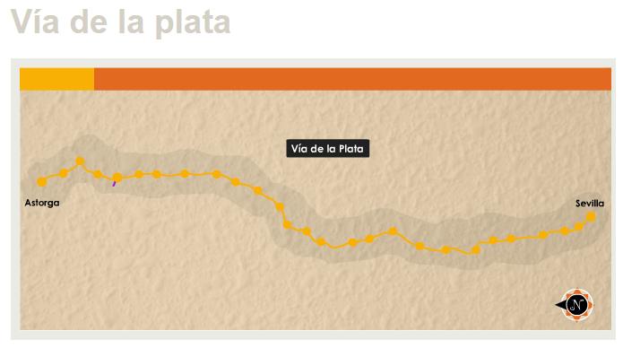 Via de la Plata - Camino de Santiago - TiétarTeVe