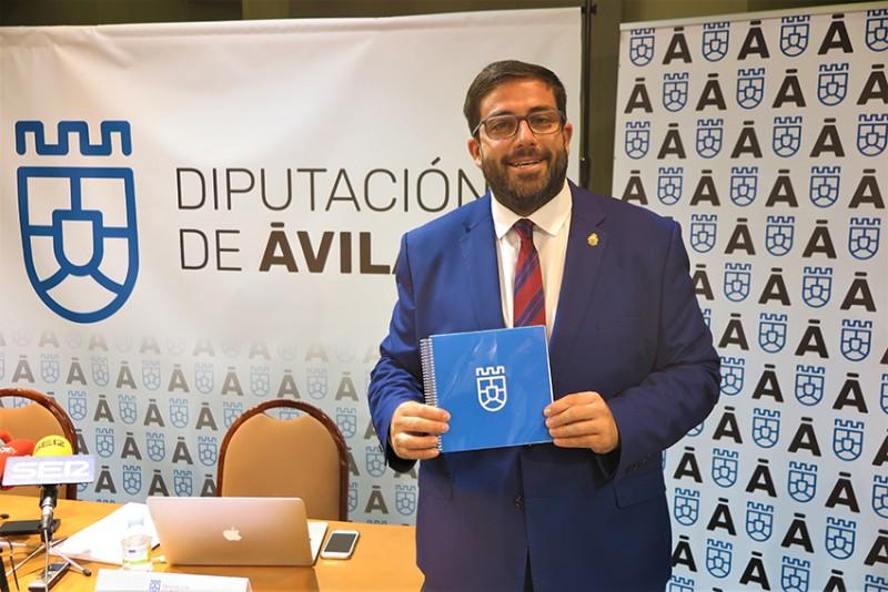 Presentación Imagen Corporativa Diputación de Ávila Nueva - TiétarTeVe