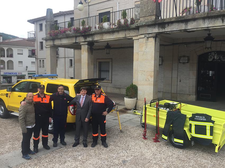 Nuevo Coche para Protección Civil de Arenas de San Pedro - TiétarTeVe