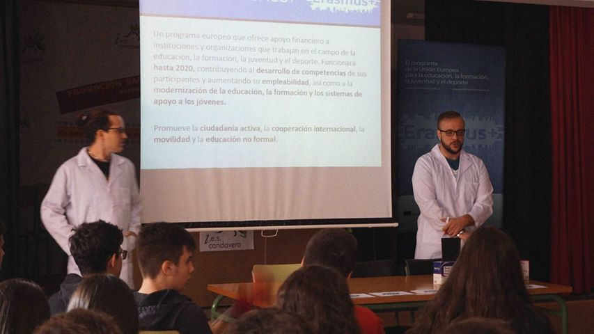 Charlas Erasmus+ en Arenas de San Pedro - TiétarTeVe