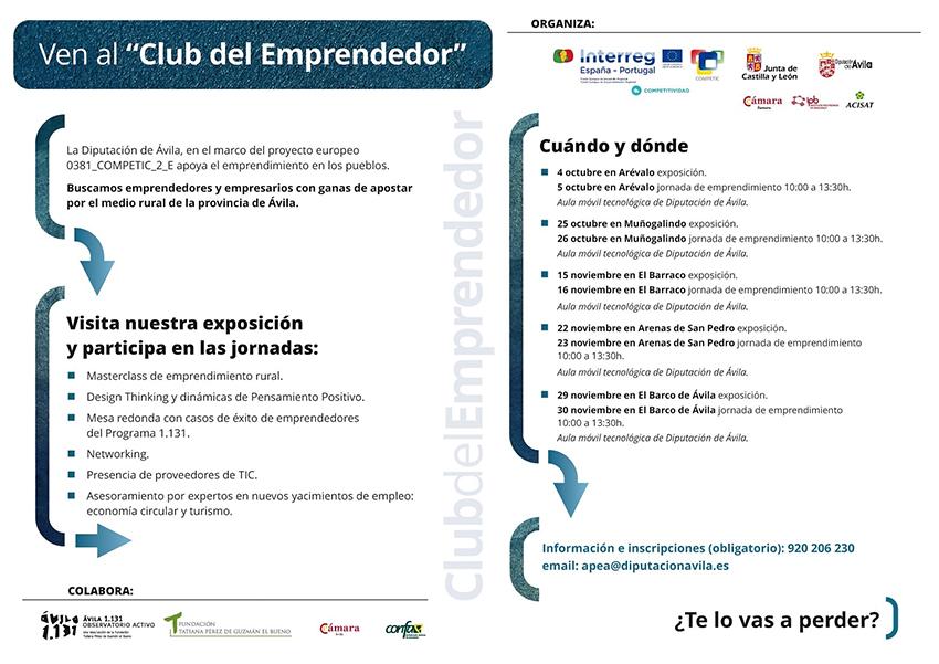 Club del Emprendedor - Arenas de San Pedro - TiétarTeVe