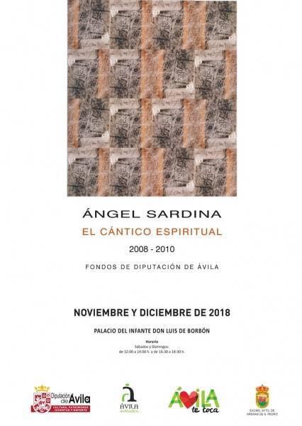 Exposición Angel Sardina en Arenas de San Pedro - TiétarTeVe
