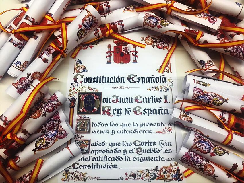 Lectura de la Constitución - Arenas de San Pedro - TiétarTeVe