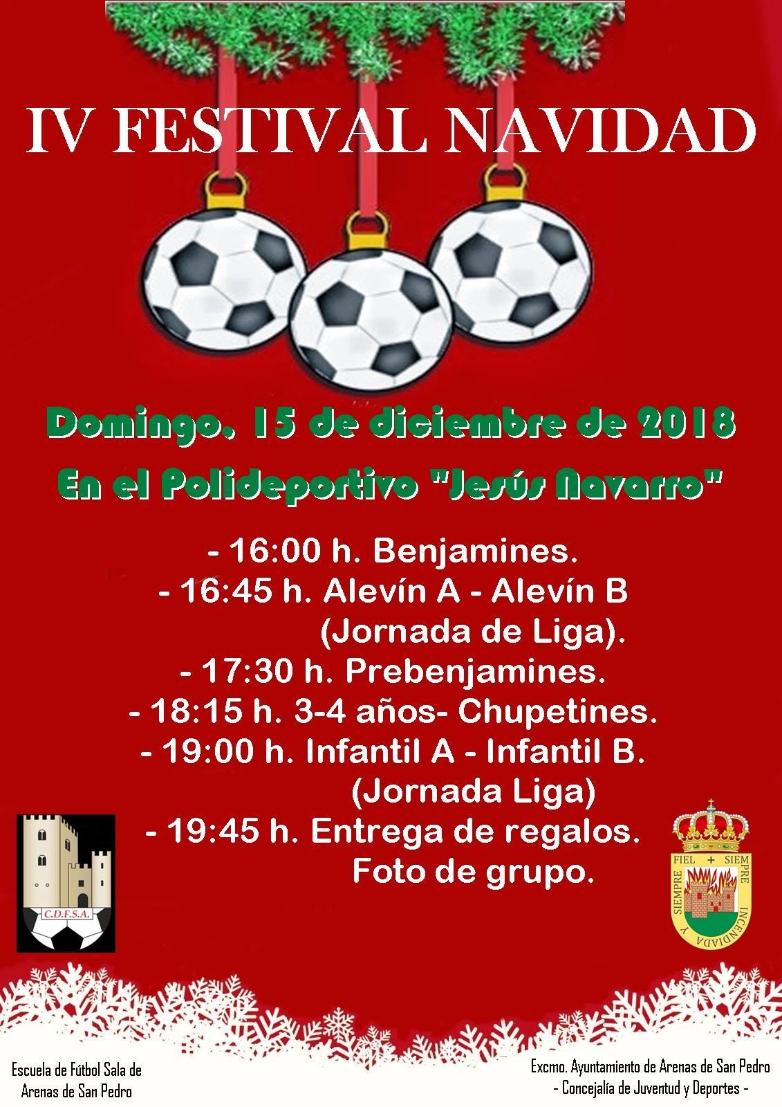 Fiesta del Fútbol Sala de Arenas de San Pedro - TiétarTeVe