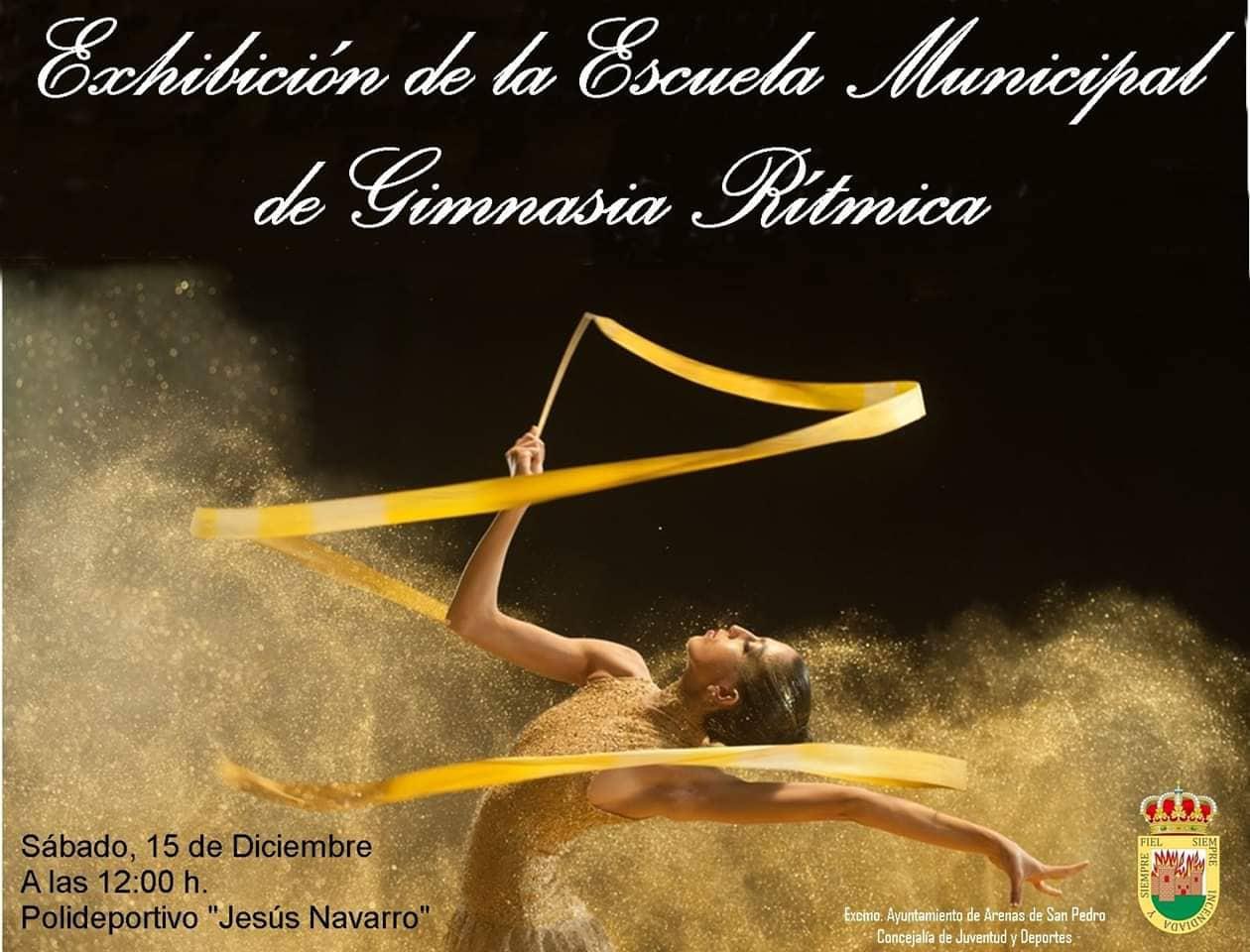 Exhibición de Gimnasia Rítmica Arenas de San Pedro - TiétarTeVe