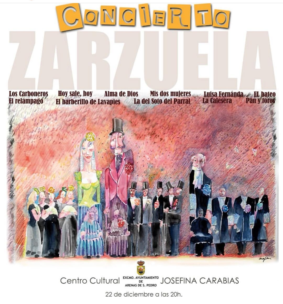Zarzuela Arenas de San Pedro - TiétarTeVe