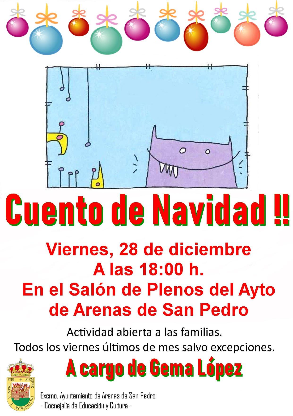Cuentacuentos de Navidad - Arenas de San Pedro - TiétarTeVe