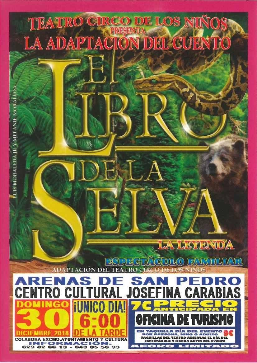 El Libro de la Selva - Arenas de San Pedro - TiétarTeVe