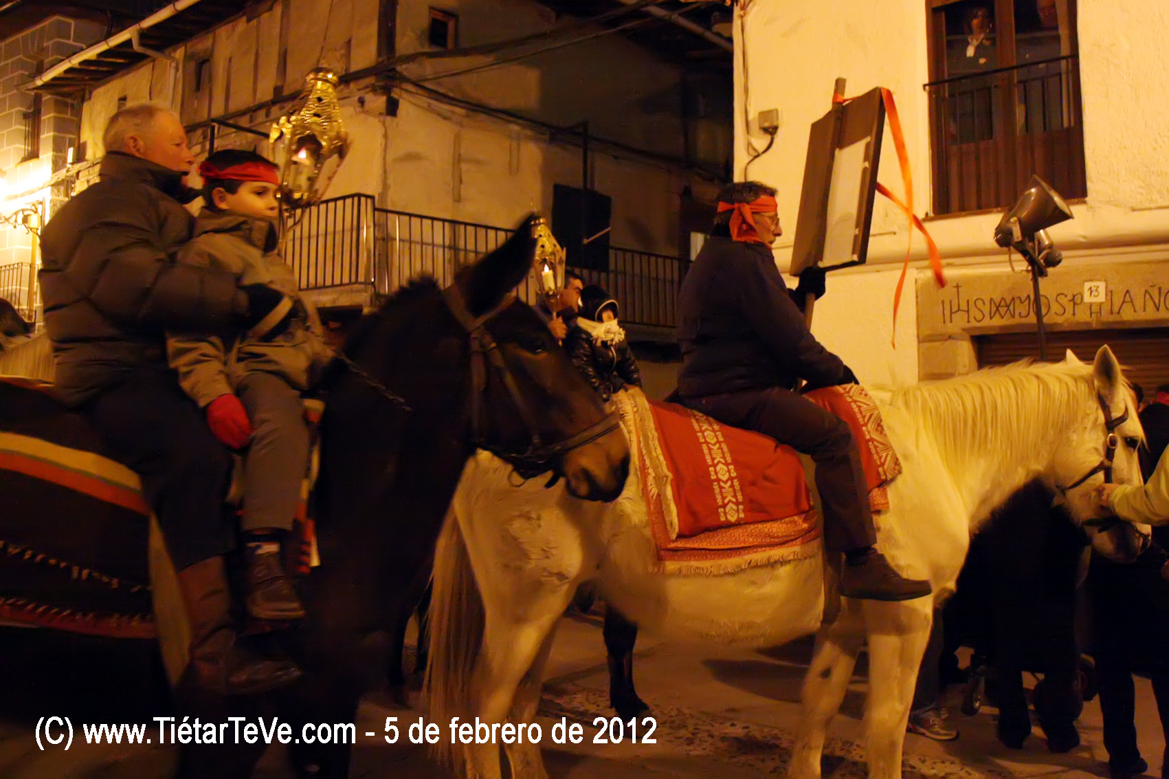 Vítor en honor a San Pedro Bautista en San Esteban del Valle - TiétarTeVe