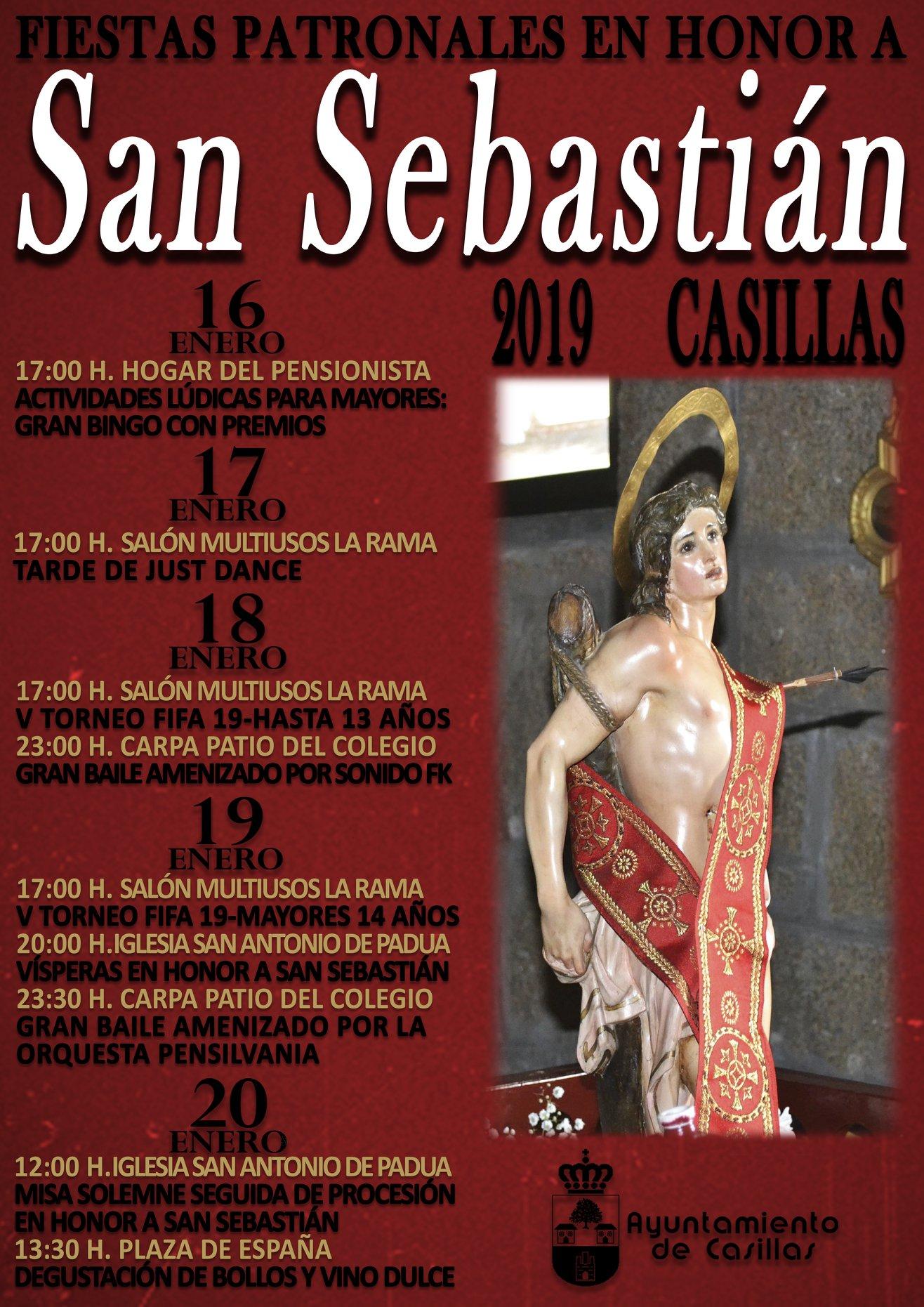San Sebastián en Casillas - TiétarTeVe