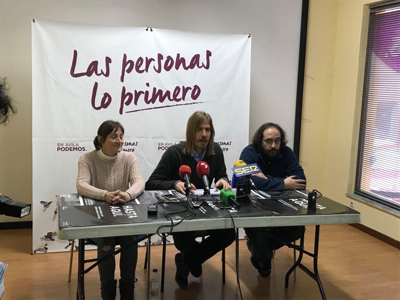 Pablo Fernández - Podemos CyL en Ávila - TiétarTeVe