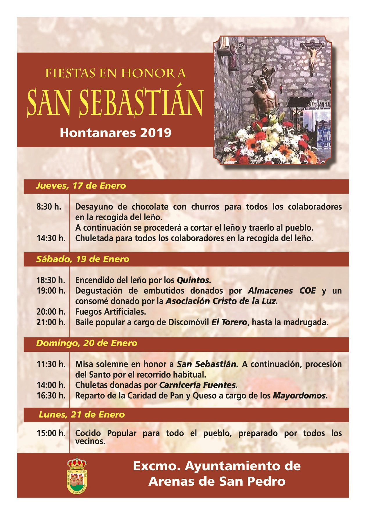 San Sebastián en Hontanares - TiétarTeVe