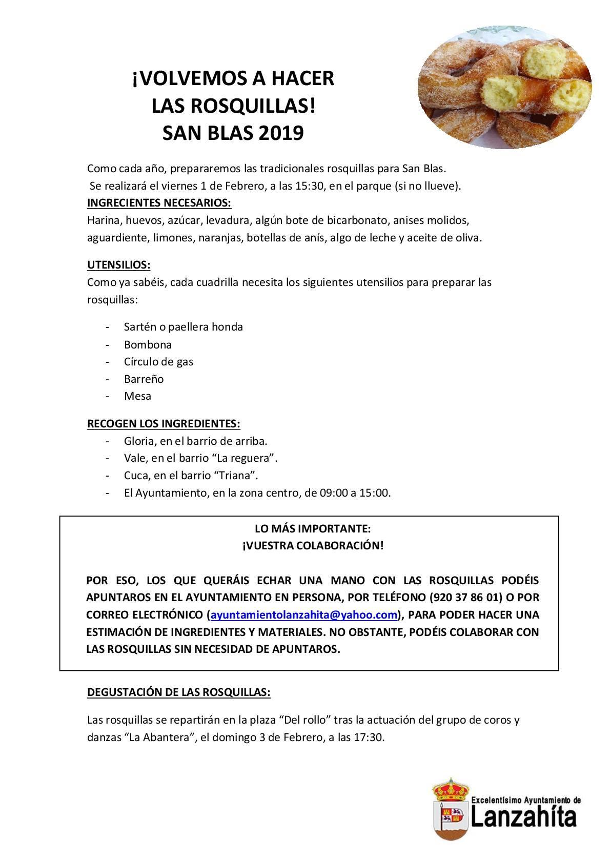 San Blas en Lanzahíta- TiétarTeVe