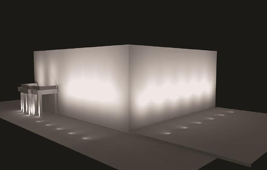 Iluminación Palacio de La Mosquera - Arenas de San Pedro - TiétarTeVe