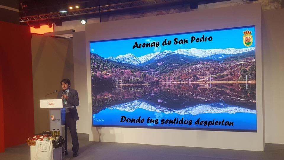 Presentación Arenas de San Pedro - FITUR 2019 - TiétarTeVe